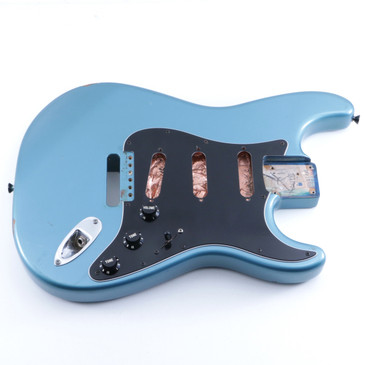 1999 Fender Mexico Classic Series '60s Stratocaster Alder Guitar Body BD-5152