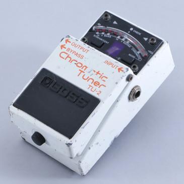 Boss TU-2 Chromatic Tuner Guitar Effects Pedal P-06101