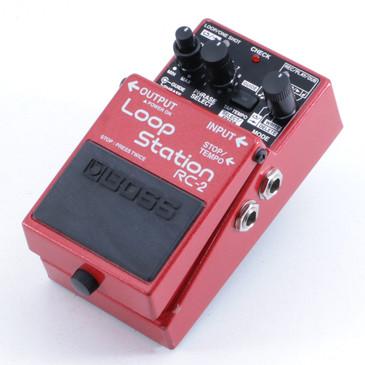 Boss RC-2 Loop Station Looper Guitar Effects Pedal P-06097