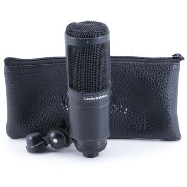 Audio-Technica AT2020 Condenser Cardioid Microphone MC-2833