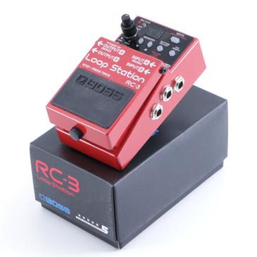 Boss RC-3 Loop Station Looper Guitar Effects Pedal w/ Box P-06169
