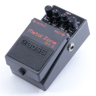 Boss MT-2 Metal Zone Distortion Guitar Effects Pedal P-06201