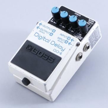 Boss DD-6 Digital Delay Guitar Effects Pedal P-06196
