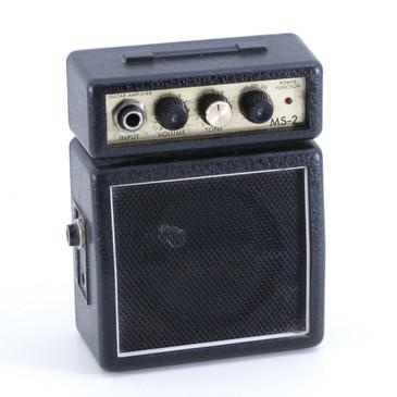 Marshall MS-2 Mini Amplifier 1-Watt Guitar Amp P-06221