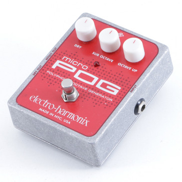 Electro-Harmonix Micro POG Octave Generator Guitar Effects Pedal P-06237