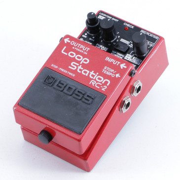 Boss RC-2 Loop Station Looper Guitar Effects Pedal P-06270