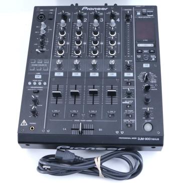 Pioneer DJM-900 Nexus 4-Channel Digital Mixer OS-8210