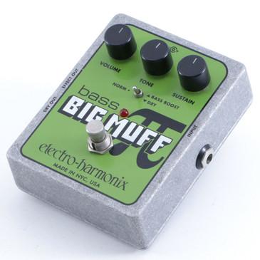 Electro-Harmonix Bass Big Muff Pi Fuzz Guitar Effects Pedal P-06313