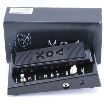 Vox Joe Satriani Big Bad Wah Guitar Effects Pedal w/ Box P-06335