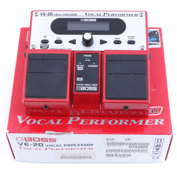 Boss VE-20 Vocal Preformer Vocal Effects Pedal w/ Box P-06348