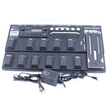 Line 6 POD XT Live Multi-Effects Pedal & Power Supply P-06374