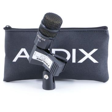 Audix D3 Dynamic Hypercardioid Microphone MC-2880