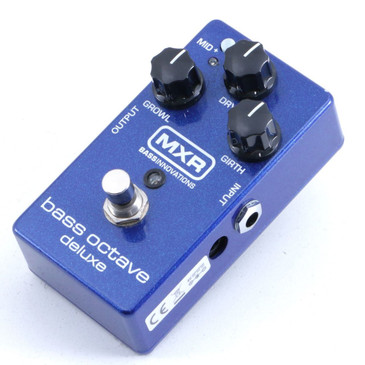 MXR M288 Bass Octave Deluxe Guitar Effects Pedal P-06397