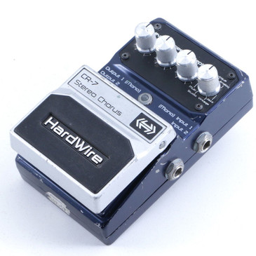Digitech Hardwire CR-7 Stereo Chorus Guitar Effects Pedal P-06395