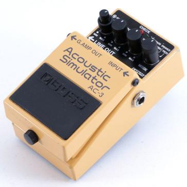 Boss AC-3 Acoustic Simulator Guitar Effects Pedal P-06430