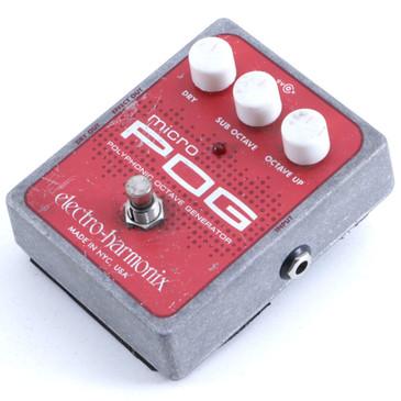 Electro-Harmonix Micro POG Octave Generator Guitar Effects Pedal P-06421