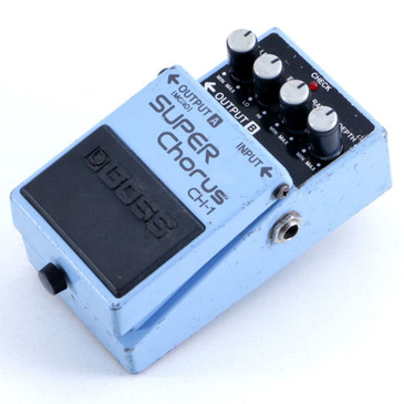 Boss CH-1 Super Chorus (Blue Label) Guitar Effects Pedal P-06418