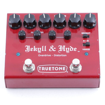Truetone Jekyll & Hyde V3 Overdrive / Distortion Guitar Effects Pedal P-06468