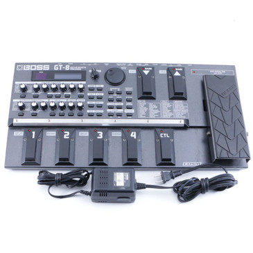 Boss GT-8 Multi-Effects Processor & Power Supply P-06462