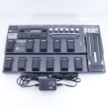Line 6 Bass Pod XT Live Bass Guitar Multi-Effects Pedal & Power Supply P-06455