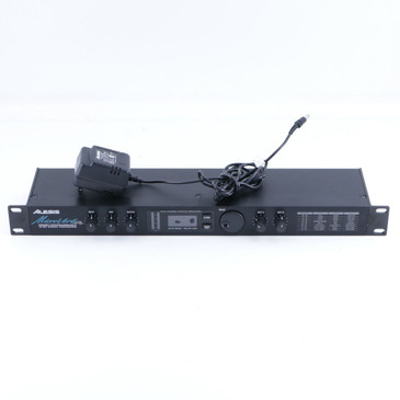 Alesis MicroVerb 16-Bit (V1.02) Guitar Effects Pedal & Power Supply P-06461