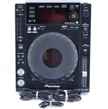 Pioneer CDJ-850-K DJ Digital Multi Media Deck OS-8234