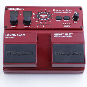 Digitech HM2 HarmonyMan Pitch Shifter Guitar Effects Pedal P-06504