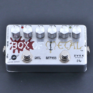 Zvex Box Of Metal (Vexter) Distortion Guitar Effects Pedal P-06527