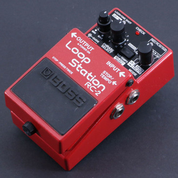 Boss RC-2 Loop Station Looper Guitar Effects Pedal P-06578
