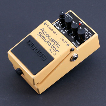 Boss AC-3 Acoustic Simulator Guitar Effects Pedal P-06625