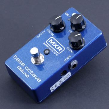 MXR M288 Deluxe Bass Octave Bass Guitar Effects Pedal P-06627