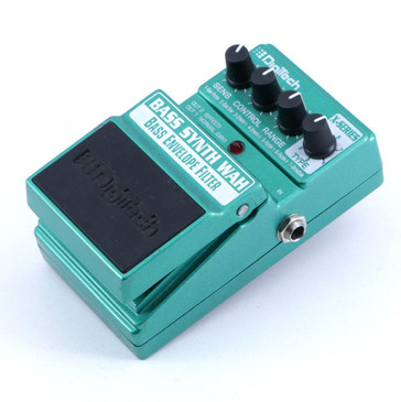 Digitech Bass Synth Wah Envelope Filter Bass Guitar Effects Pedal P-06613