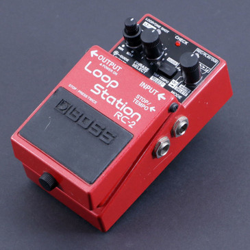 Boss RC-2 Loop Station Looper Guitar Effects Pedal P-06622