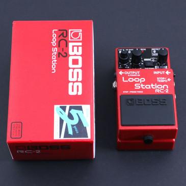 Boss RC-2 Loop Station Looper Guitar Effects Pedal w/ Box P-06620
