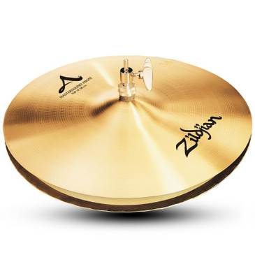 "Zildjian 14"" A Custom Mastersound Hi-Hat Pair Traditional Finish"