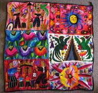 Chichicastenango Embroidery Panel #2