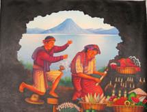 Antonio Coche Mendoza -- Ceremonia Maya Atitlan