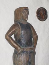 Maya Wood Slingshot #25 -- Old Slingshot handle