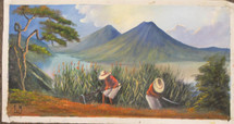 Lorenzo Gonzalez Mendoza -- Corn Farmers on Lake Atitlan
