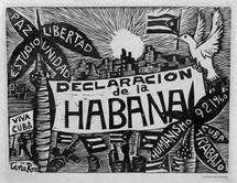 A Portfolio --  Declaracion de la Habana, 40 Xilografias