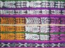 Corte #29 -- Woman's Colorful Ikat corte