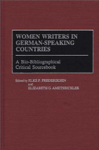 Women Writers in German-Speaking Countries