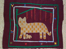Santiago Atitlan Embroidery Panel #7
