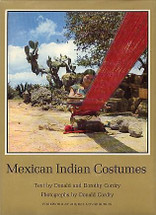 Book:  Cordry, Mexican Indian Textiles