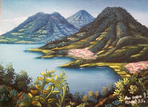 Israel T. S. -- View of San Pedro la Laguna