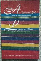 Book:  A Legacy of the Gods, Textiles and Woodcarvings from Guatemala