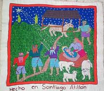 Santiago Atitlan Embroidery by Petronilla #1