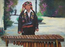 Juan Manuel Sisay -- Marimbista from Chichicastenango