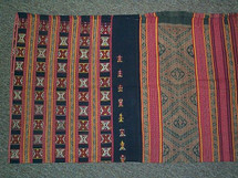 Timor antique Beboki village tube sarong