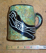 Mana Pottery Mug, Early 1960s